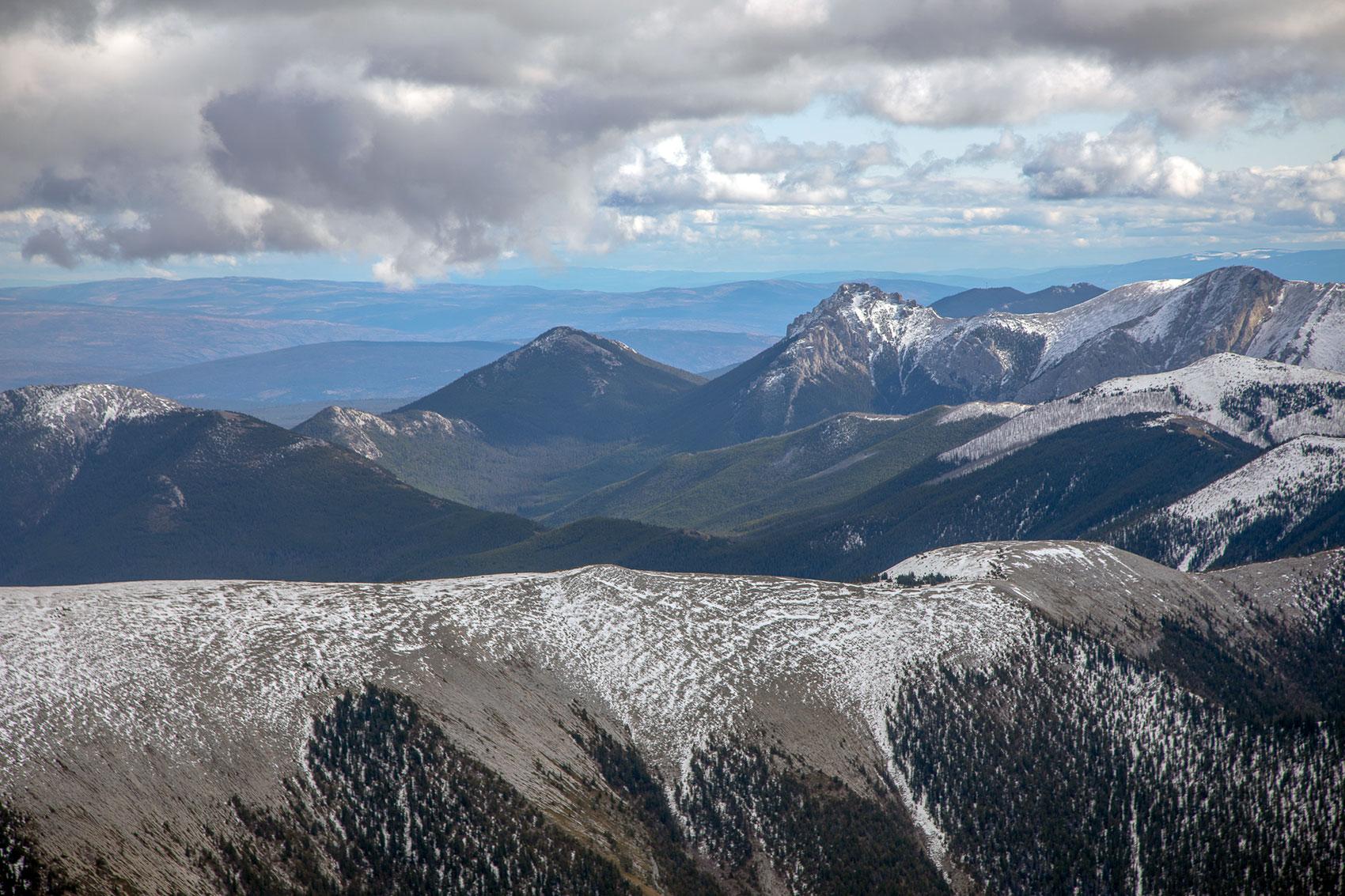 Marble Mountain range