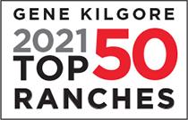 Gene Kilgore 2021 Top 50 Ranches